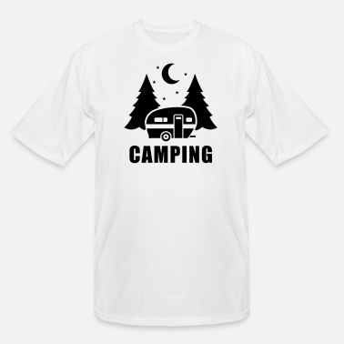 Mobile Caravan trailer - Men's Tall T-Shirt