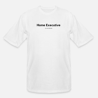 Home Executive Definition (Black) - Men's Tall T-Shirt
