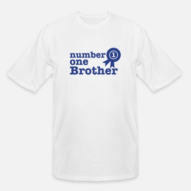 Prize number one BROTHER 1st (with a first prize ribbon) - Men's Tall T-Shirt