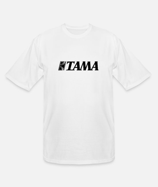 Official (person) T-Shirts - Tama Official Logo - Men's Tall T-Shirt white