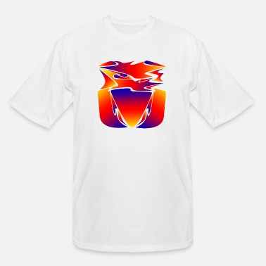 Tongue Abstract Tongue - Men's Tall T-Shirt