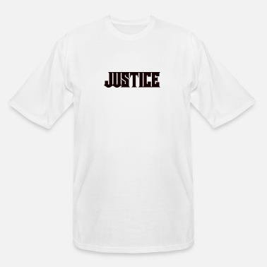 Justice Authority Justice - Men's Tall T-Shirt