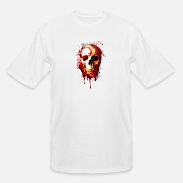 Bloody Bloody Skull - Men's Tall T-Shirt