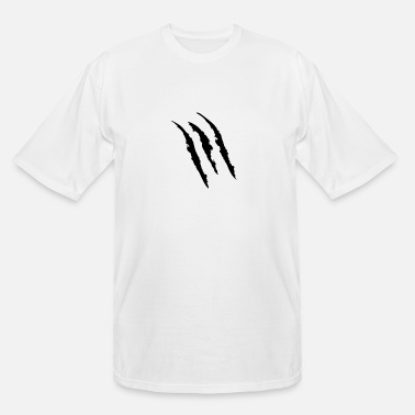 Mark Something Claw Marks - Men's Tall T-Shirt