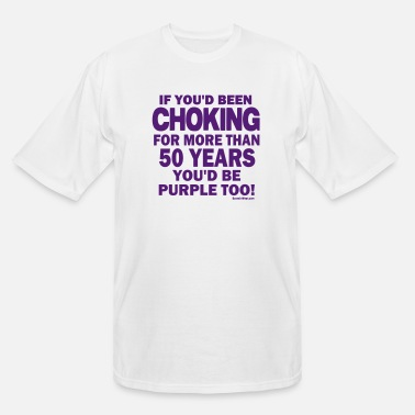 Lambeau Field BACK Vikings Purple - Men's Tall T-Shirt
