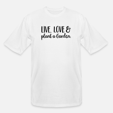 Plant Grounds plant - Men's Tall T-Shirt