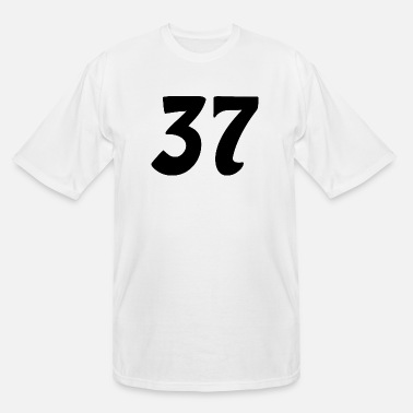 Number 37 number - Men's Tall T-Shirt