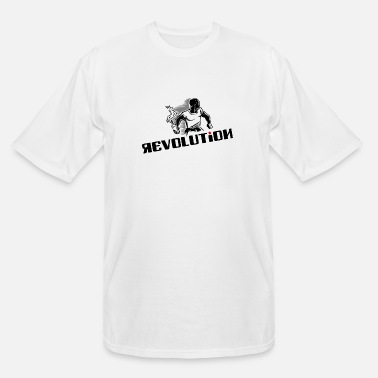 Revolution - Rebel - Demonstration - Riot - Men's Tall T-Shirt