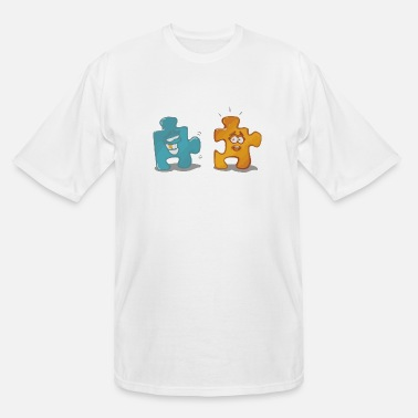 Puzzle Puzzle - Men's Tall T-Shirt