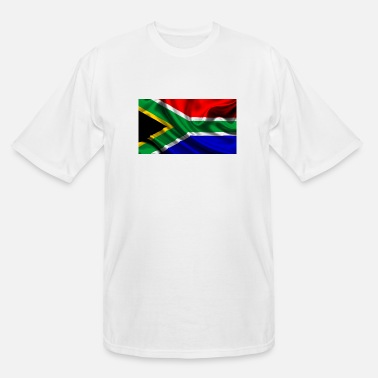 South South-African-Flag - Men's Tall T-Shirt