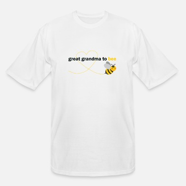 Bee Great Grandma To Bee - Men's Tall T-Shirt