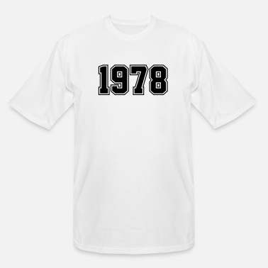 Year Of Birth 1978 | Year of Birth | Birth Year | Birthday - Men's Tall T-Shirt