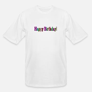Bday HAPPY BDAY - Men's Tall T-Shirt