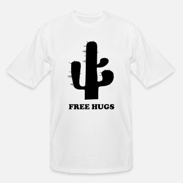 Stinginess Free Hugs Stingy Cactus - Men's Tall T-Shirt