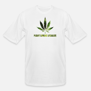 Weed & Plant Smoke Legalize - Men's Tall T-Shirt