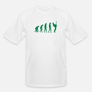 Bass Player bass player evolution - Men's Tall T-Shirt