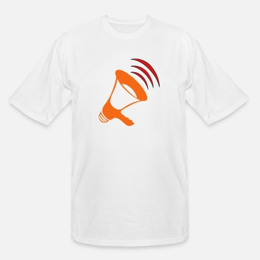 Megaphone megaphone - Men's Tall T-Shirt