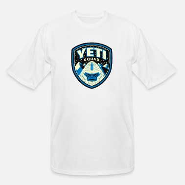Yeti Yeti Squad - Men's Tall T-Shirt