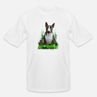 Bull Bull Terrier - Men's Tall T-Shirt