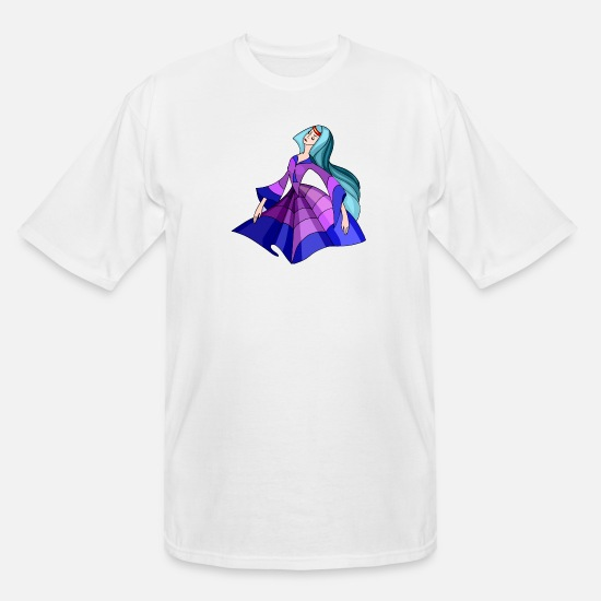Dancing T-Shirts - abstract - Men's Tall T-Shirt white