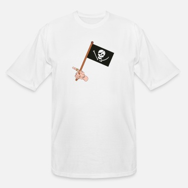 Pirate Flag Pirate Flag - Men's Tall T-Shirt