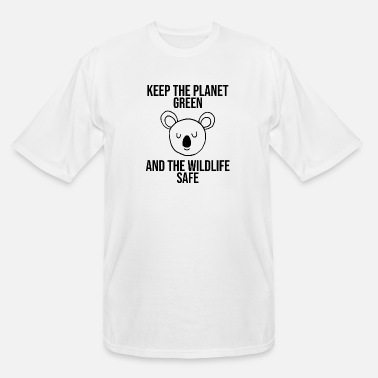 Nature Conservation Koala nature conservation - Men's Tall T-Shirt