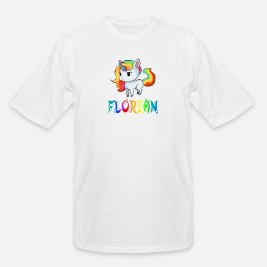 Florian Florian Unicorn - Men's Tall T-Shirt