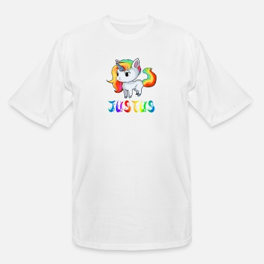 Justus Justus Unicorn - Men's Tall T-Shirt