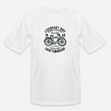 Retro Classic Bicycle Retro Vintage | Cycling - Men's Tall T-Shirt