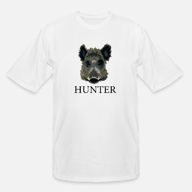 Wild Boar Boar Hunter - Men's Tall T-Shirt