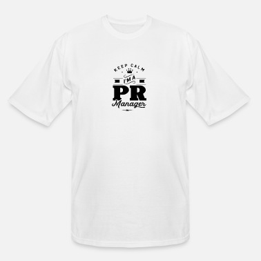 Pr PR Manager - Men's Tall T-Shirt