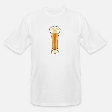 Wheat Beer Wheat Beer Glass - Men's Tall T-Shirt