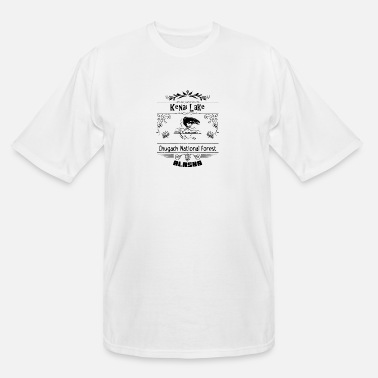 Recreational Kenai Lake Alaska - Men's Tall T-Shirt
