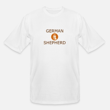 German German Shepherd - Men's Tall T-Shirt
