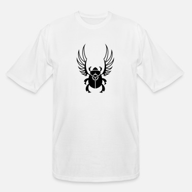 Bug Black Sun Scarab Beetle - Men's Tall T-Shirt