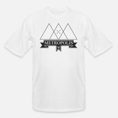 Metropolis Metropolis White - Men's Tall T-Shirt