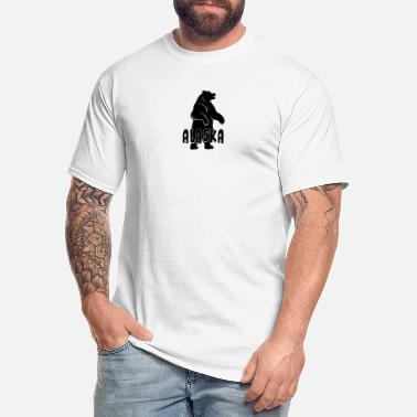 Alaska Alaska Bear - Men's Tall T-Shirt