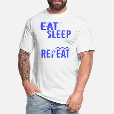 Float Tank Float Therapy Eat Sleep Float Repeat - Men's Tall T-Shirt