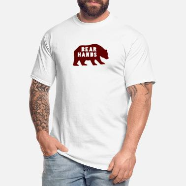 Bear Hands - Men's Tall T-Shirt