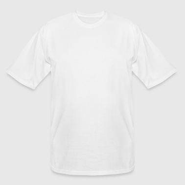 Chinese Words: Force - Men's Tall T-Shirt