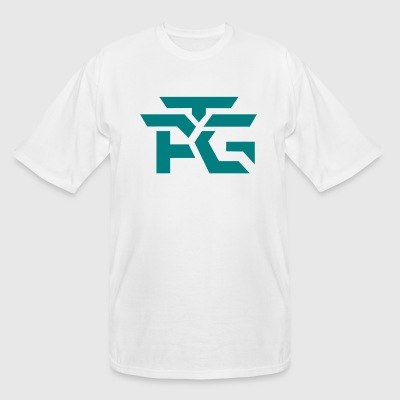 Logo Teal - Men's Tall T-Shirt