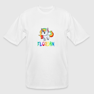 Florian Unicorn - Men's Tall T-Shirt