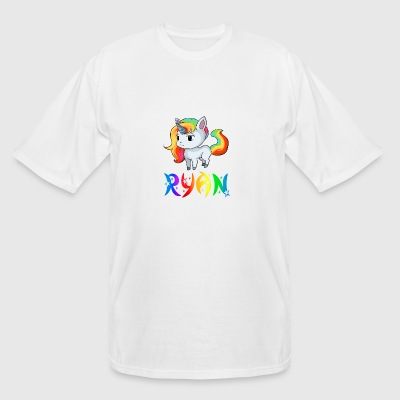 Ryan Unicorn - Men's Tall T-Shirt