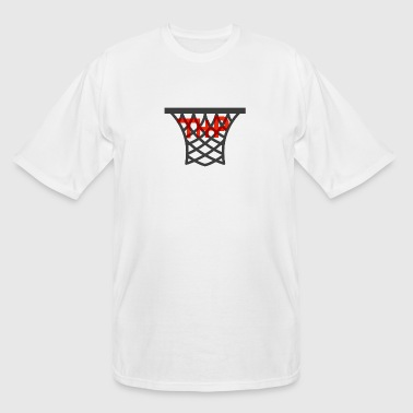 Hoop logo - Men's Tall T-Shirt