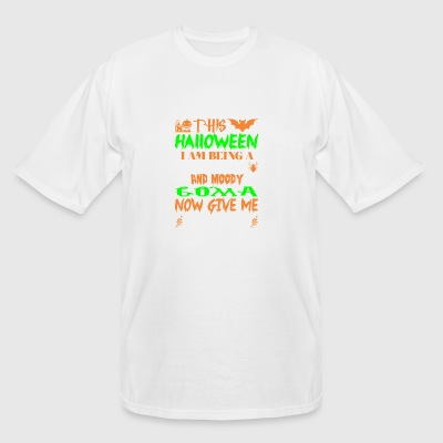 This Halloween Being Tired Moody Goma Candy - Men's Tall T-Shirt