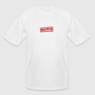 Warning! - Men's Tall T-Shirt