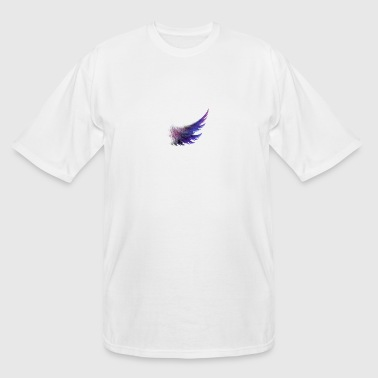 awesome purple wings - Men's Tall T-Shirt