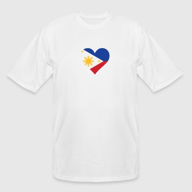 A Heart For The Philippines - Men's Tall T-Shirt