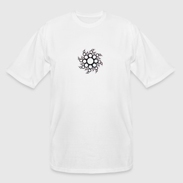 Sacred Geometric Cirles - Men's Tall T-Shirt
