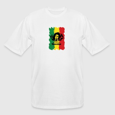 Wailing Wailers rasta - Men's Tall T-Shirt